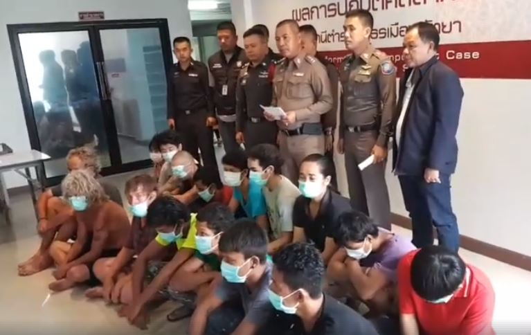 19 foreigners arrested for overstay, working without a work permit