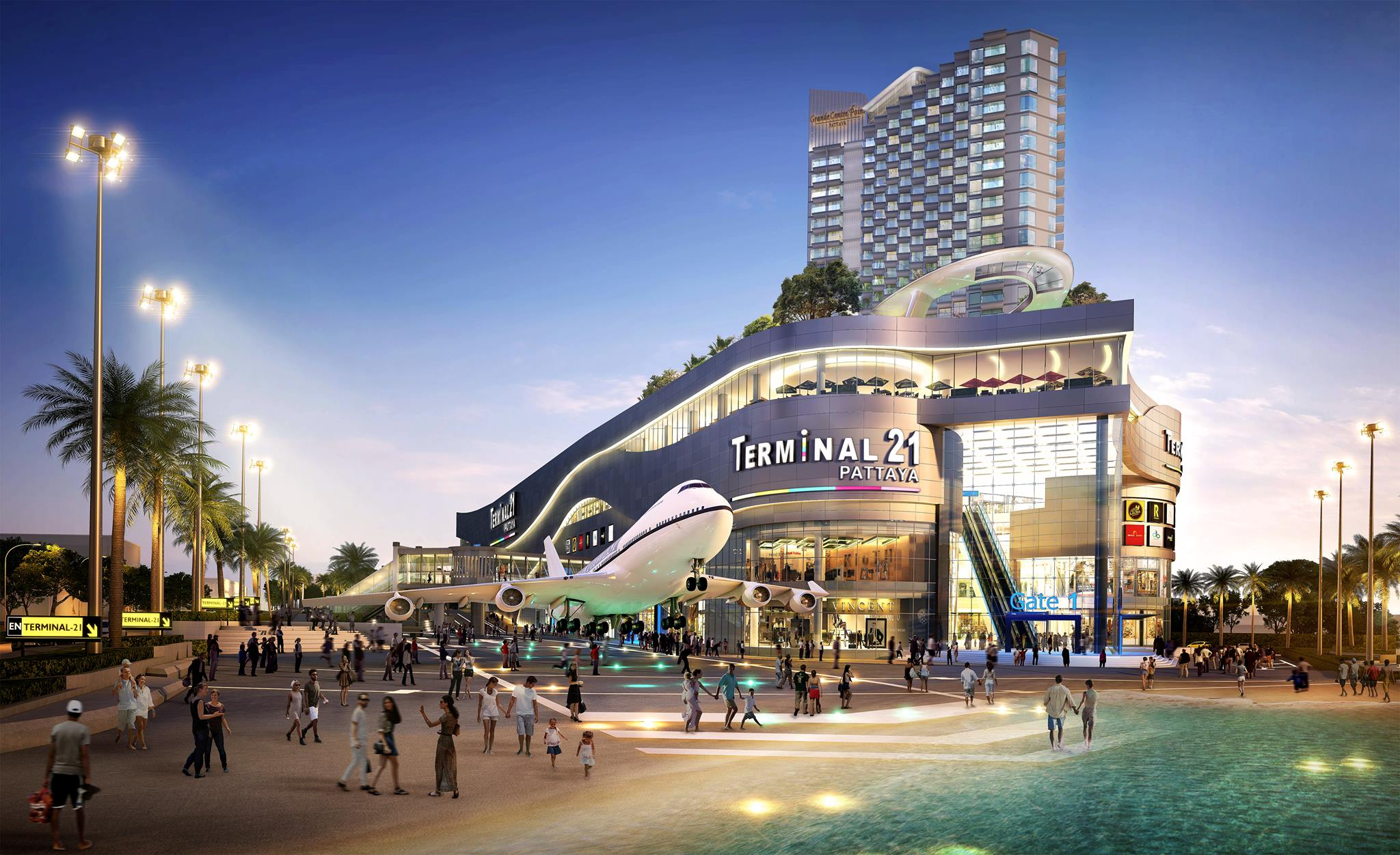 Terminal 21 Shopping Mall In Pattaya Set To Open On