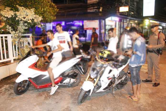 Police arrest and fine multiple young Arab nationals for racing